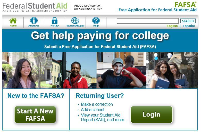 Completing the FAFSA (Free Application for Federal Student Aid) Complete