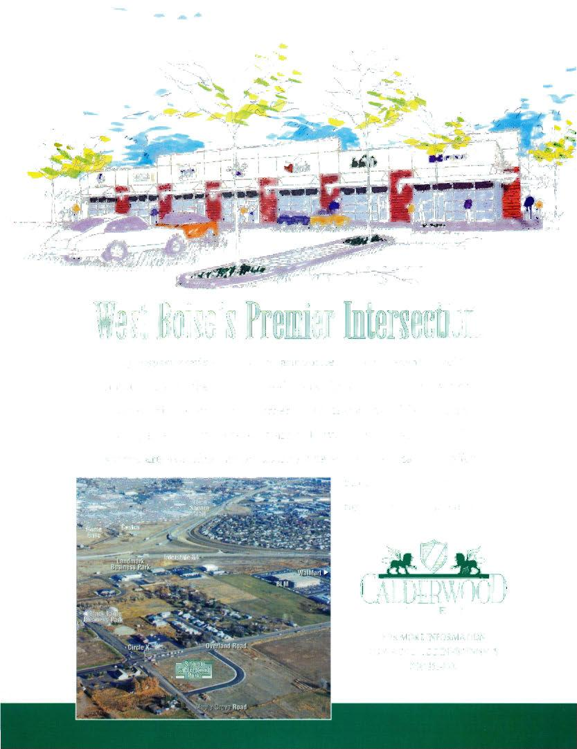"West Boise's Premier Illtersectio["", I Clegg Investments is proud to announce"