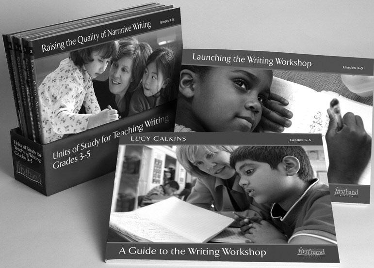 Organized within a carefully crafted spiraling curriculum, these six sequential units of study help you teach narrative and expository writing with increasing power and intimacy.
