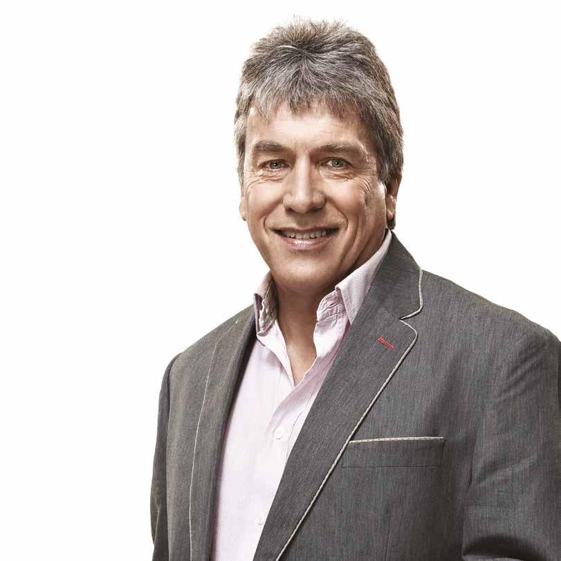 JOHN INVERDALE BBC PRESENTER & JOURNALIST Sometimes, there is no denying fate.
