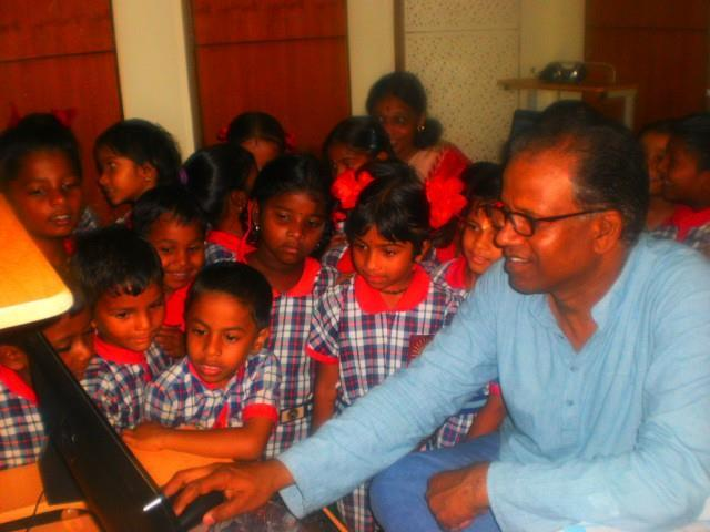 Primary students visited All India Radio
