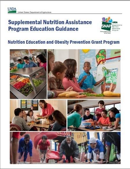 California Smarter Lunchrooms Movement USDA Snap-Ed Programs are encouraged to use SLM in their programs! SNAP-Ed Guidance 3/29/2014 (p.
