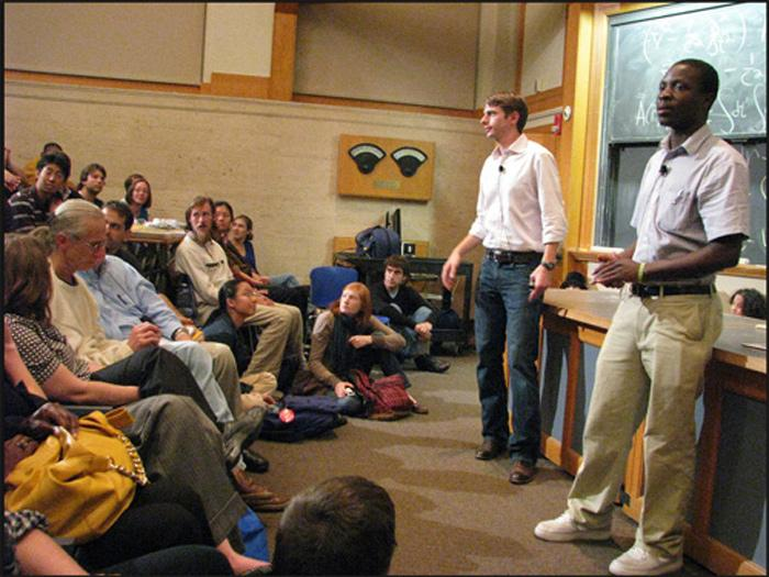 Kamkwamba with Bryan Mealer Announcements: Tonight, there will be a special Technology and Culture Forum event featuring William Kamkwamba.
