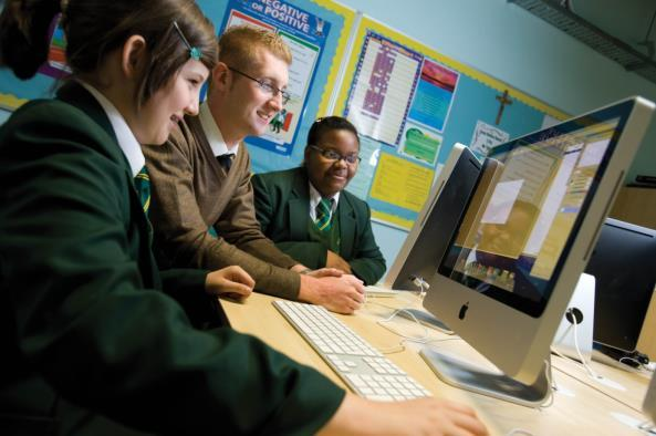 The school is a member of the Manchester Catholic Education Partnership (MANCEP) and so has strong curriculum and pastoral links with the other Manchester Catholic High schools and Sixth form