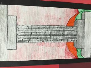 ARTIST OF THE WEEK Londyn Lanio: 6th Grade Project: Ancient Greek Columns Londyn and her classmates went to the Nelson Atkins Museum of Art on their 6th grade study trip.