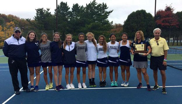2016 NJSIAA GIRL S TENNIS