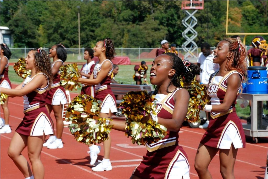 Central State University Cheerleaders CAMPUS LIFE Student Affairs Norman E. Ward University Center..... 15 Standards of Student Conduct... 15 Residence Life. 15 Off-Campus Living.