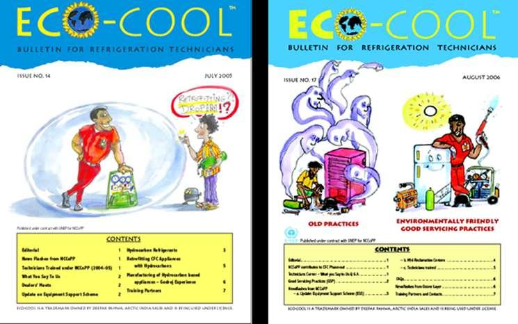 Major Achievements of HIDECOR & NCCoPP EcoCool newsletter regularly distributed to 20,000+