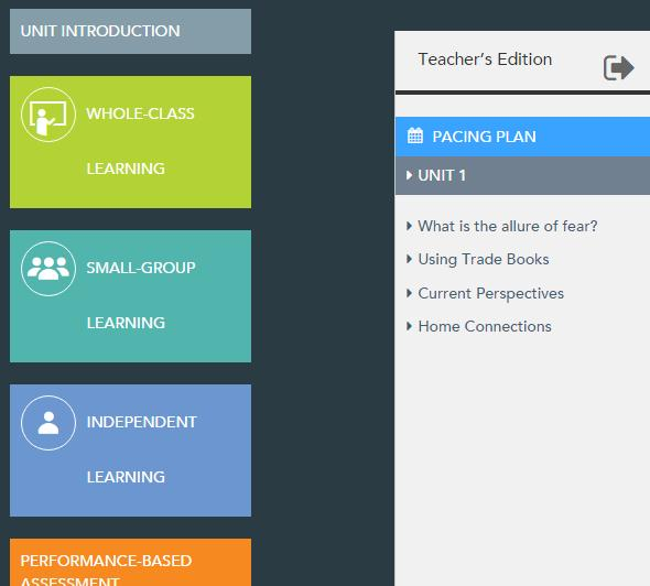 Explore the Interactive Teacher s Edition (also known as Realize Reader). Go back into Pearson Realize to your program dashboard and click the Interactive Teacher s Edition.