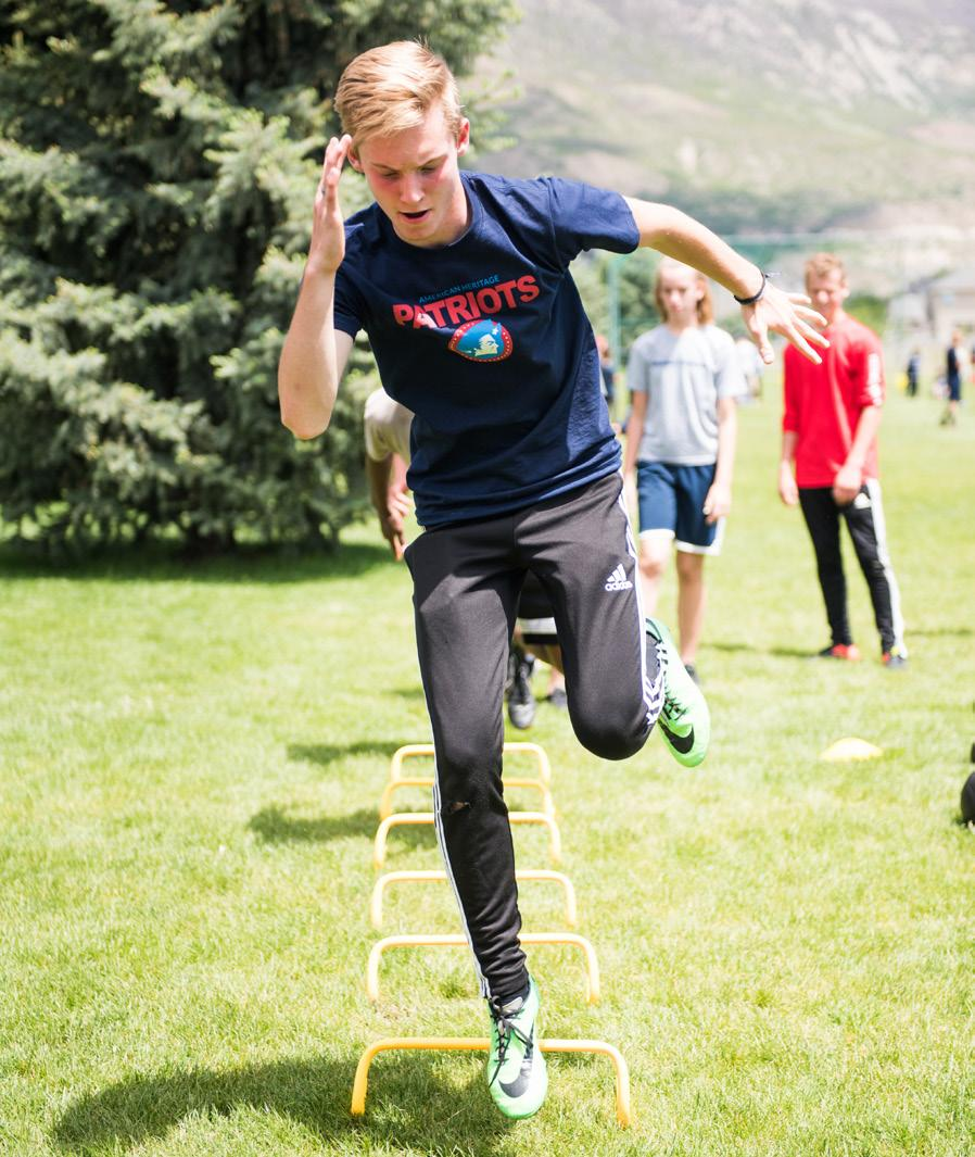 Camps are intended for both experienced athletes and for anyone who wants to improve their overall physical fitness.