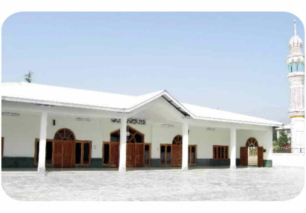 The Mosque Administration Block accommodate all the