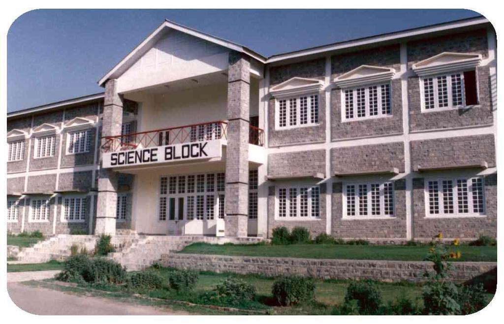 Science Block includes two well equipped Laboratories