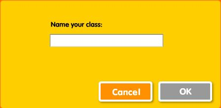 Creating a Class List To create a Class File, choose New Class from the File menu, type the name of the class and click OK.