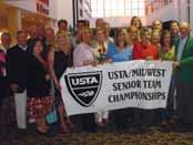 Senior Team Championships and USTA Adult Intersectional Championships The USTA/Midwest Section annually sends teams to battle for titles at both the Men s and Women s USTA Intersectional Team