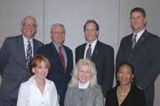 Not pictured: Beverly Wentz, Secretary. USTA/Midwest Section Past Presidents A record number of esteemed former presidents attended the 2008 USTA/ Midwest Section Annual Meeting in Chicago, Il.