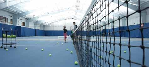 PLAY. World Class Tennis and much, much, more. Five Seasons is more than a fitness club.