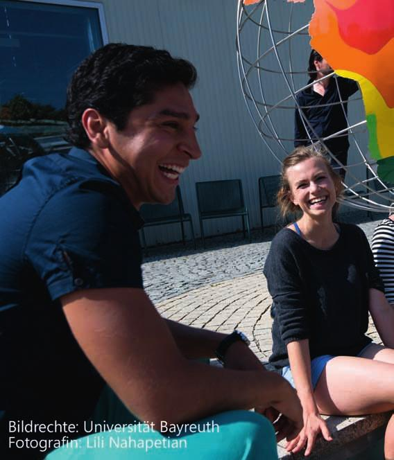 18 Special: 15 Universities present their Range of Courses University of Bayreuth IIK Bayreuth e.v. Every summer, the campus transforms into a meeting place for young people who want to have an unforgettable time studying in an international atmosphere!