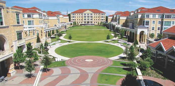 Extended community RELATIONSHIP WITH TCU Brite Divinity School and Texas Christian University are independent institutions that share a rich historical relationship and enjoy a shared heritage,