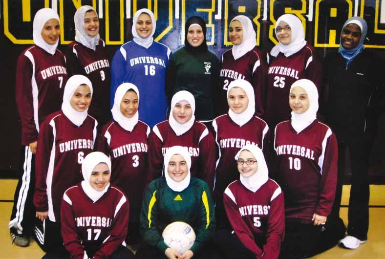 Soccer Girls HS Soccer Team 1 st row: Dalia Altarshan Lena Sarhan Sameha Martini 2 nd row: Amal Hassoun Dawlat Mohamed Kanar Ibrahim Janan Badier Yasmine Tabbara 3 rd row: Ronya Kawji Doha Mohammad
