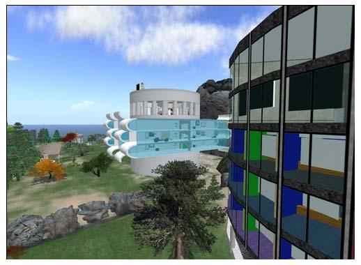 Second Life provides multicultural exposure, the exploration of methods for online learning where faculty and student can interact with expressions, share course material, and create an avatar (a
