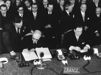 Treaty of Rome, 1957 it shall be the aim of the Commission to promote close collaboration between Member States in the social field, particularly in matters relating