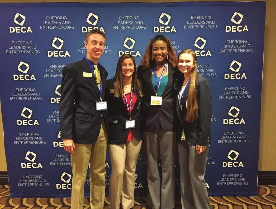 Business & Industry Marketing Interlink targeted occupations for high demand employment opportunities for 2014-2018 DECA has given me the opportunity to become an experienced leader, ready to succeed