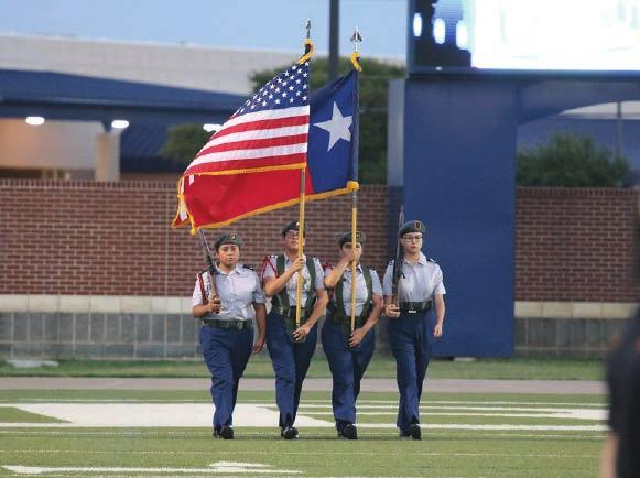 in the Texas Army National Guard. Brandon Plotner, HHS Graduate Where can I go with JROTC?