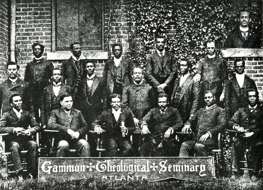 HISTORY 1883 to Present In 1869, Gammon Theological Seminary had its beginning as Gammon School of Theology, a department of Religion and philosophy at Clark University.