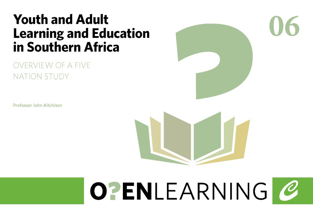 Youth and Adult Learning and Education in Southern Africa