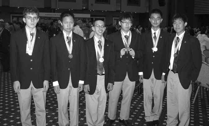 Report of the Director, Continued The top twelve USAMO students were honored in Washington, DC June 7, 2010 with elaborate ceremonies held at the headquarters of the Mathematical Association of
