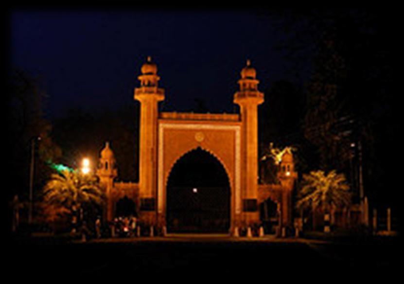 Aligarh Muslim University: An Introduction There are three fully functioning off-campus centers of the university located in the cities of Malappuram (Kerala), Murshidabad (West Bengal) and