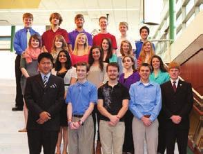 National Merit & Achievement Programs Honor High School Students The National Merit Scholarship Program named several Pine- Richland High School students as Finalists in the 2013 National Merit