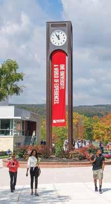 FROSTBURG STATE UNIVERSITY: A WORLD OF EXPERIENCES At Frostburg State University, experiential education is more than a tagline it is woven into the very fabric of the institution.