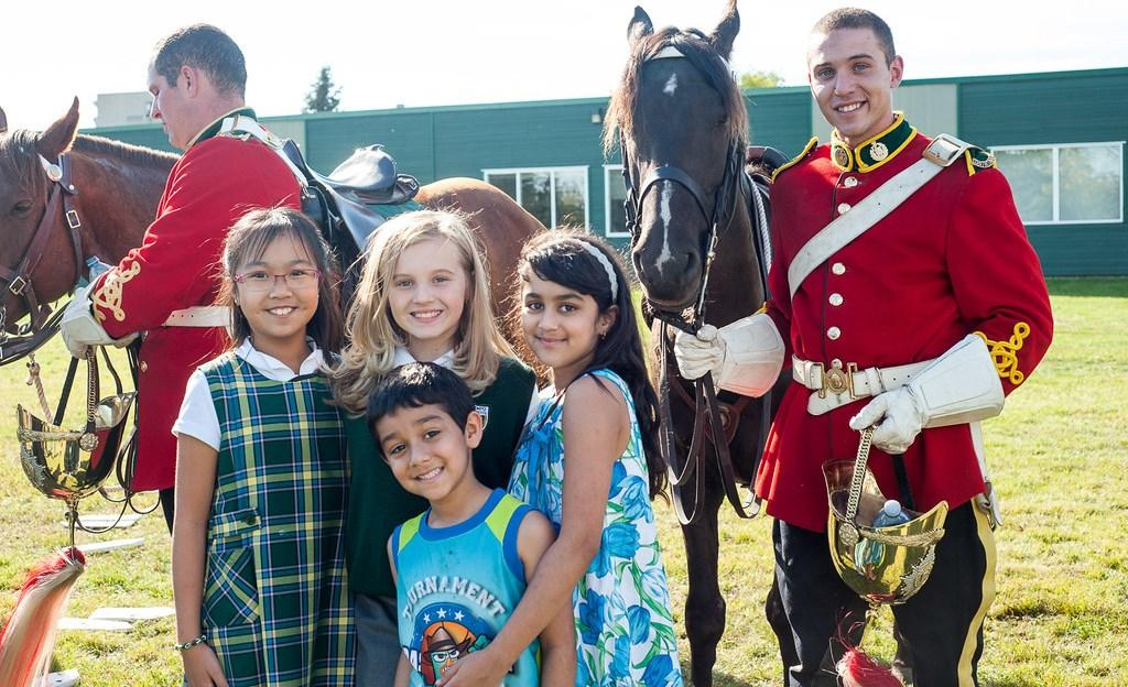 Tempo grade 2 students learned about the Lord Strathcona Mounted Troop. The examination schedule for our Upper School students has been prepared and is available to our students.