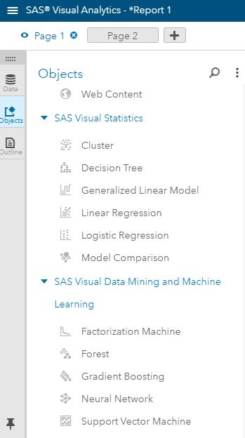SVM in SAS Visual Data Mining and Machine Learning SAS