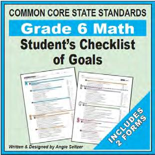 Display a goal each day. Add your own custom goals. All Grade goals are on two 8.5 by 11 pages.