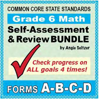 aligned to ALL Common Core math standards. This bundle includes four parallel versions, A-D, for Grade.