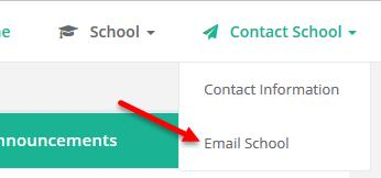 INTRODUCTION TO EDUCATE: FOR PARENTS P a g e 20 The Email School page appears. 4.