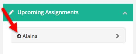 INTRODUCTION TO EDUCATE: FOR PARENTS P a g e 7 Viewing Assignments You can view a list of all assignments in the School tab. 1. Click on the Black Arrow next to your student s name.