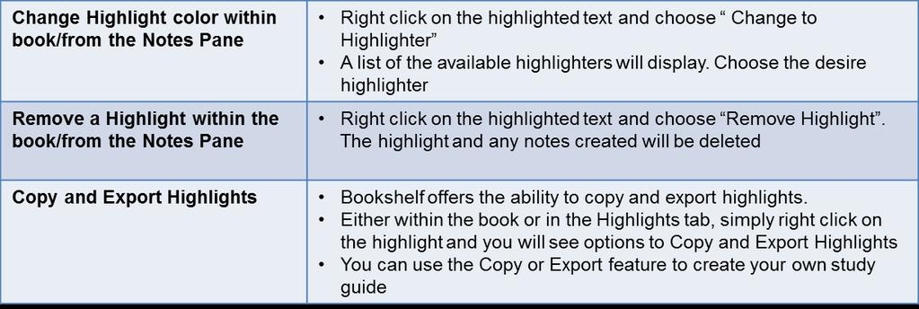Select the text to highlight and click on the highlighter pen icon in the toolbar Select the text to highlight.