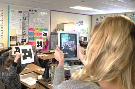 The Plickers App Teachers download a free Plickers app on a smartphone or tablet to scan the classroom for responses. The app recognizes the cards and records each student response.