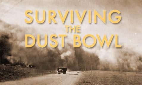 1930s The Dust Bowl affected 100,000,000 acres (400,000 km 2 ), centered on the
