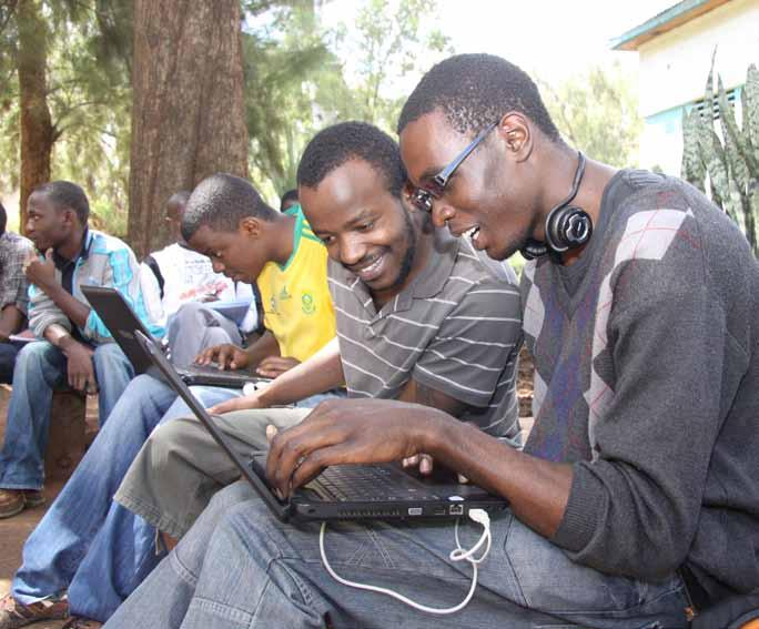 by the fact that the University network extends to several colleges which need to exchange data.