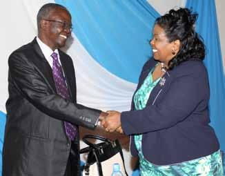 The World Trade Organization Director-General Pascal Lamy, Dr Mukhisa Kituyi