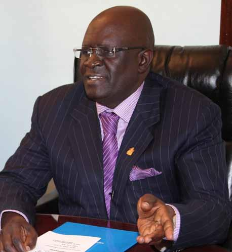 Vice-Chancellor's Message Prof. George A.O. Magoha Vice-Chancellor This report is a clear reflection of the Universities contribution to social and economic development in Kenya.