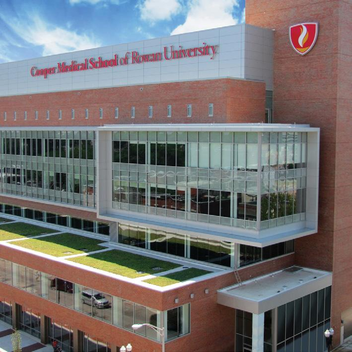 The Cooper Campus and Surrounding Area Cooper Medical School of Rowan University Medical Education Building is located on the Cooper Health Sciences Campus on South Broadway, between Benson and