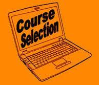 Front Page of Course Selection Sheet You will select your English, Math, Science and Social