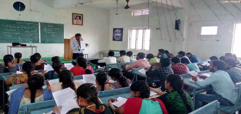 Events Training programme was conducted on