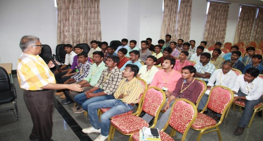 A Seminar was organized by SMS Dept.