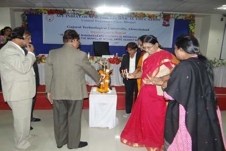 Welcome of all dignitaries:- Program was